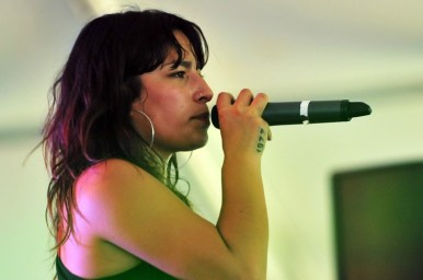Anita Tijoux - Lollapalooza Chicago 2011 - día uno | Fotógrafo: Javier Valenzuela