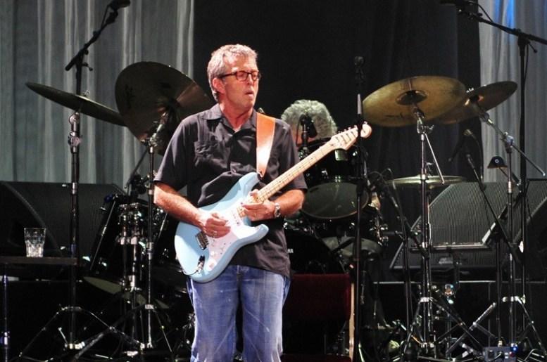 Eric Clapton en Chile | Fotógrafo: Javier Valenzuela