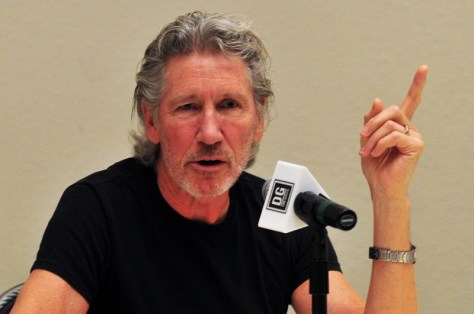 Conferencia de prensa de Roger Waters en Chile   Fotógrafo: Javier Valenzuela