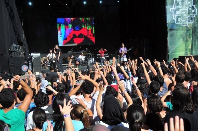 Los Tetas | Lollapalooza Chile 2012 | Fotógrafo: Javier Valenzuela