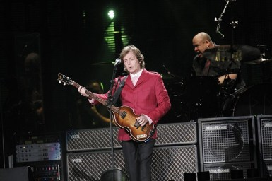 Paul McCartney en el Zócalo - México | Fotógrafo: Lulú Urdapilleta