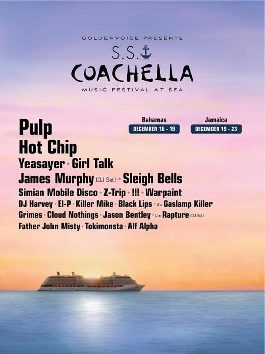 Coachella at sea - Diciembre 2012