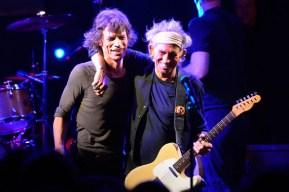 Mick Jagger (69 años) y Keith Richards (69 años)