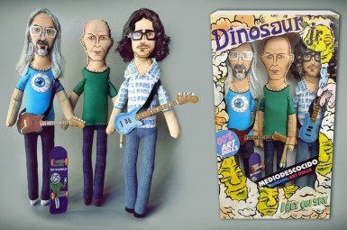 Dinosaur Jr. | ©MEDIODESCOCIDO Art Dolls