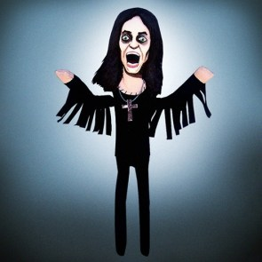 Ozzy Osbourne | ©MEDIODESCOCIDO Art Dolls
