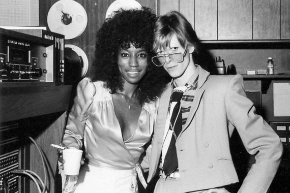 Claudia Lennear y David Bowie
