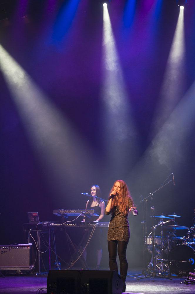 The Sirens: Anneke Van Giersbergen, Liv Kristine y Kari Rueslatten | Fotógrafo: Javier Valenzuela