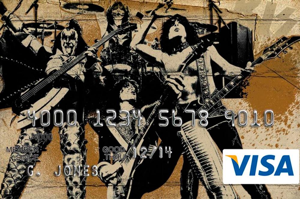 KISS - Tarjeta de crédito
