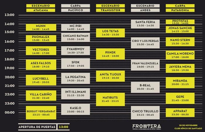 Hoarios - Frontera Festival 2015