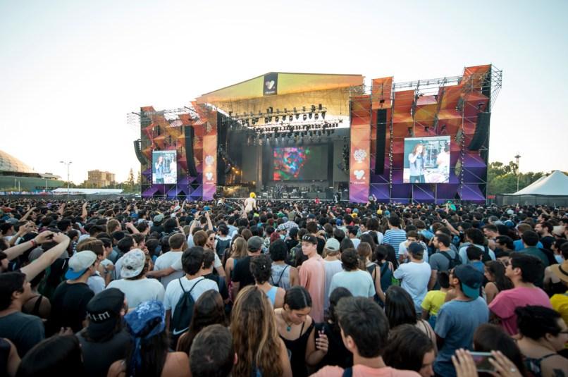 Tame Impala - Lollapalooza Chile 2016 | Fotógrafo: Javier Valenzuela