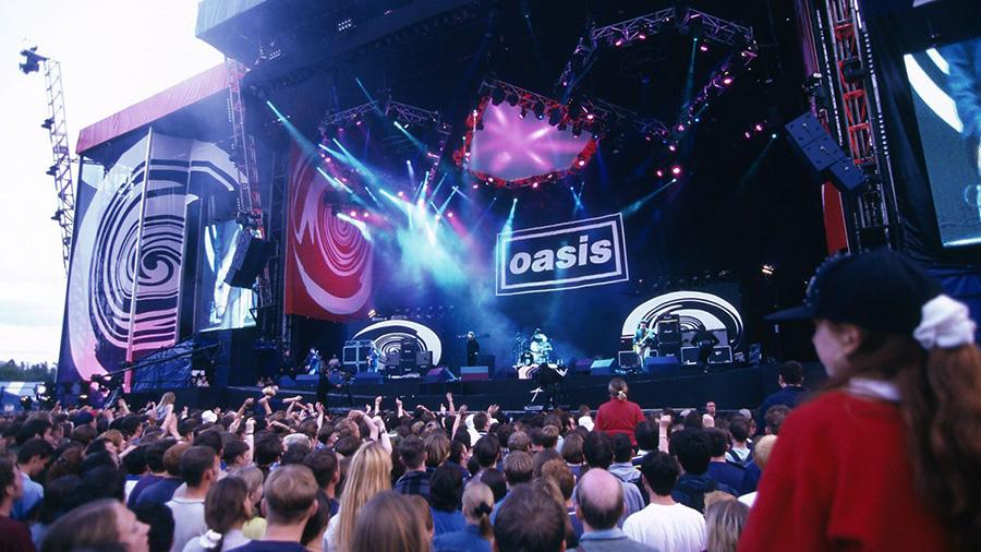Oasis en Knebworth