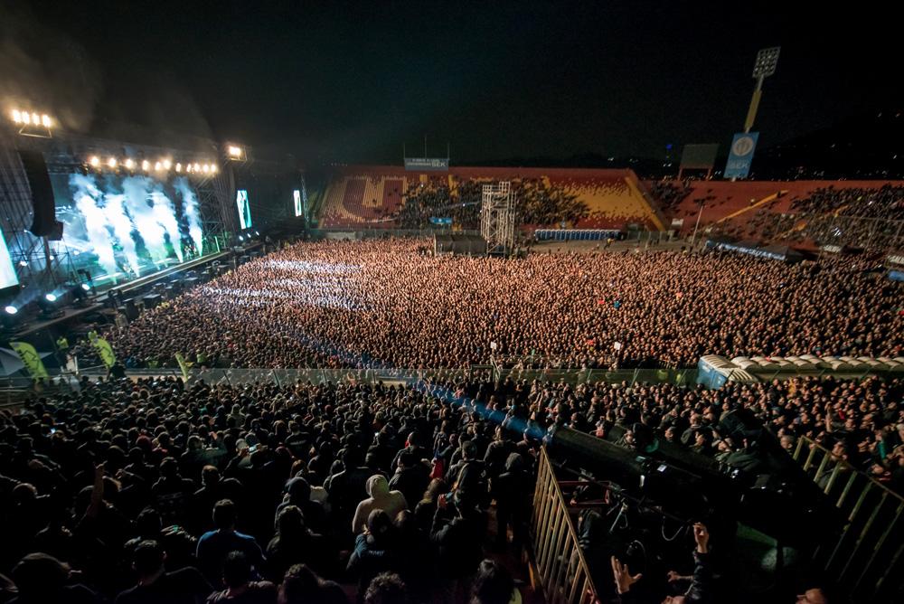 RAMMSTEIN - ROCKOUT | Fotógrafo: Javier Valenzuela