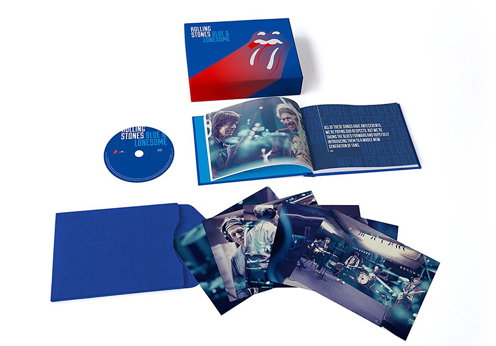The Rolling Stones -  Blue & Lonesome Deluxe Boxset