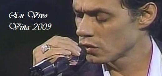 Marc Anthony - En Vivo Desde Viña Del Mar (2009)