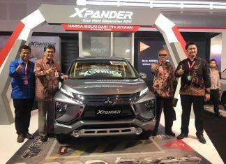 Mitsubishi Xpander hadir si Pameran Otomotif Surabaya
