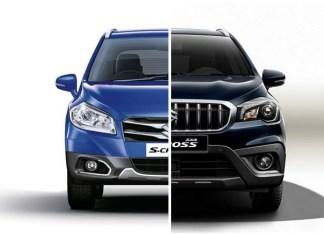 Suzuki SX4 S-Cross New vs Old