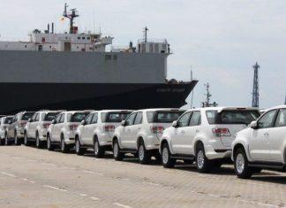 ekspor Toyota