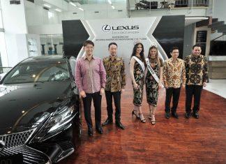 lexus dan kontes kecantikan