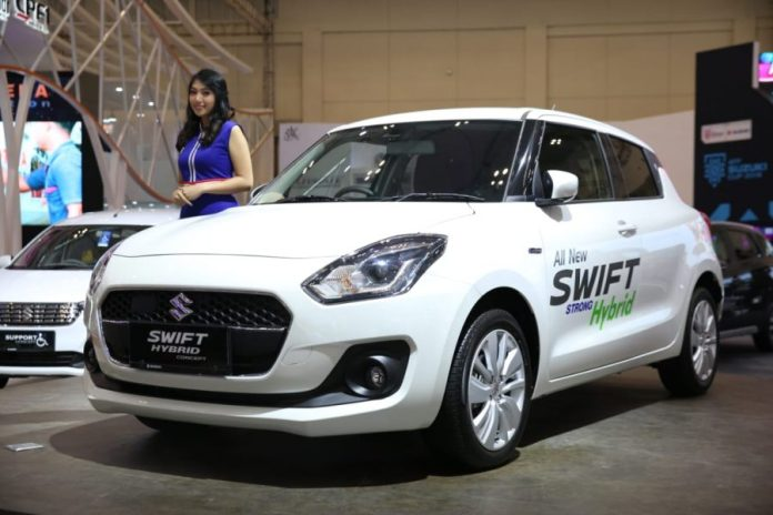 suzuki swift strong hybrid