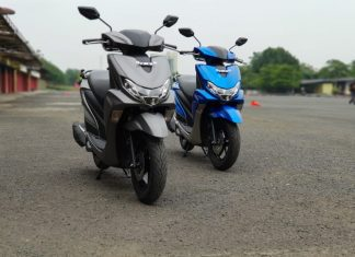 test ride yamaha freego