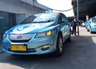 tarif taksi listrik