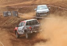 New triton test drive