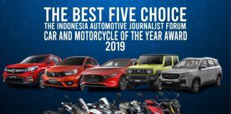 finalis mobil dan motor terbaik
