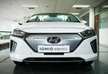 kendaraan listrik hyundai ioniq