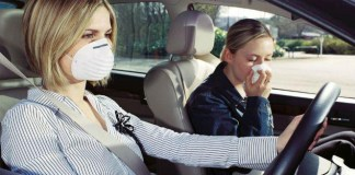 cegah virus corona di kabin mobil