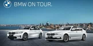 bmw on tour