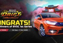 honda brio virtual drift challenge