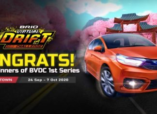 honda brio virtual drift challenge