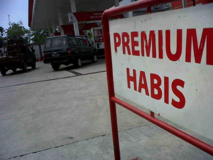 pertamina hapus bbm premium
