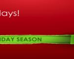 Healthy Holidays Survival! Starts - Monday 24th November - Friday 2nd January 2015