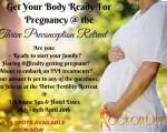 The Thrive Pre-Conception Retreat: 28th – 29th April 2016