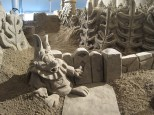 Sand Sculpture Demonstration