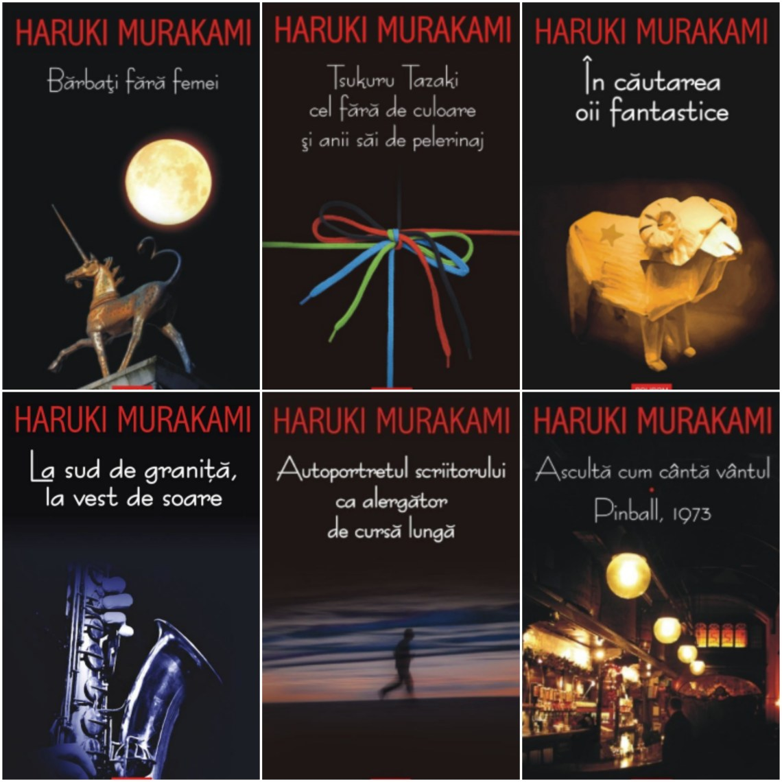carti Haruki Murakami