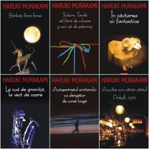 cartile lui Haruki Murakami
