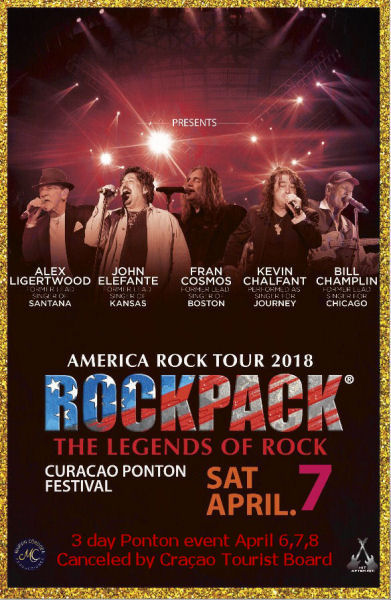 April 7, 2018 – ROCKPACK® in Curacao