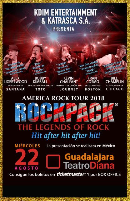 August 22, 2018 – ROCKPACK® in Guadalajara