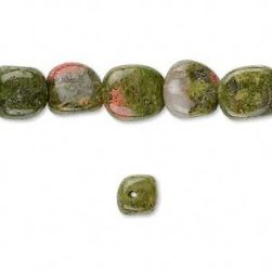 Counter Gemstone: Unakite
