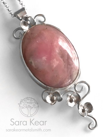 Pink Opal and Orchids