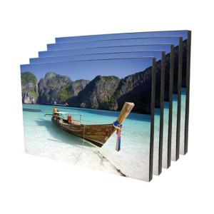 Wooden Wall Mount Photo Panels