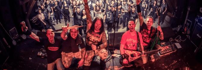 contorsion band trash metal