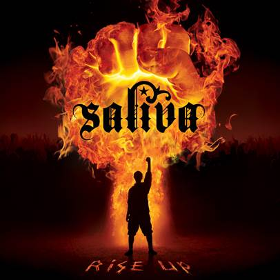 Rise Up - album cover - saliva
