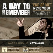 """A DAY TO REMEMBER PREMIERE """"END OF ME"""" VIDEO"""