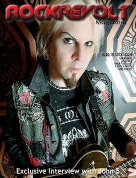John 5 - rockrevolt magazine cover