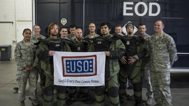Drowning Pool USO Tour