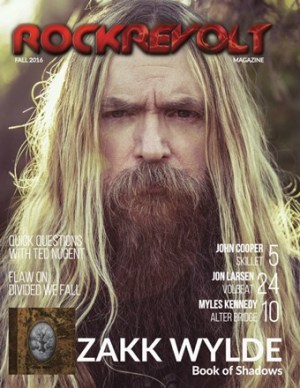 Zakk Wylde Cover Issue