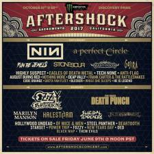 Monster Energy Aftershock 2017 announces line up